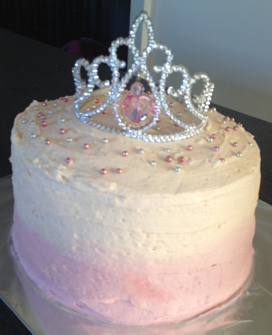 Silver White Cake Frosting