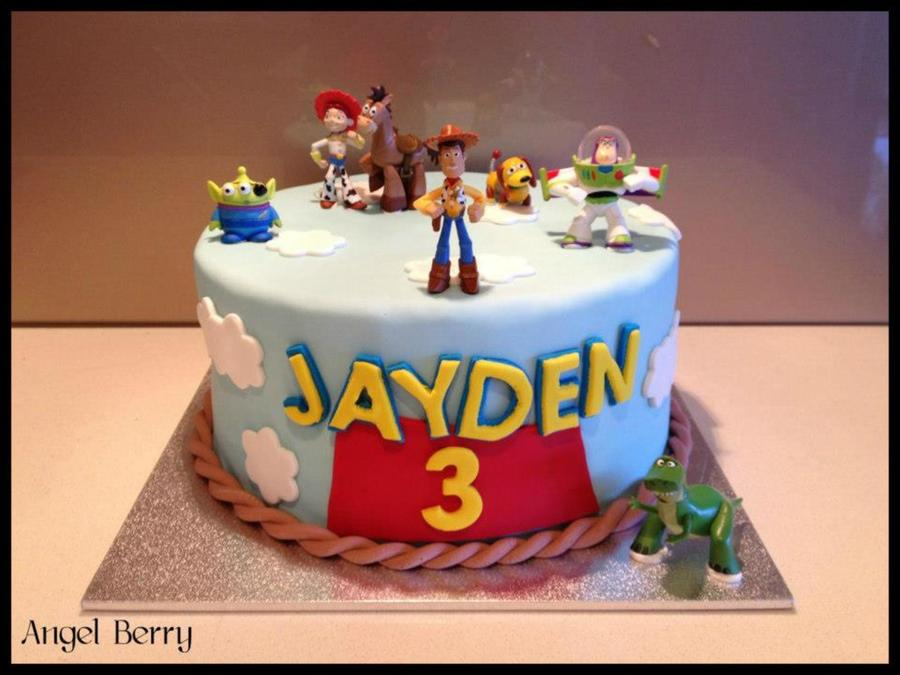 Jaydens Toy Story on Cake Central