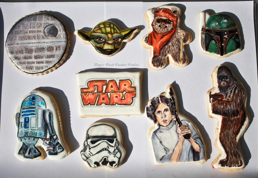 Star Wars Royal Icing Cookies on Cake Central