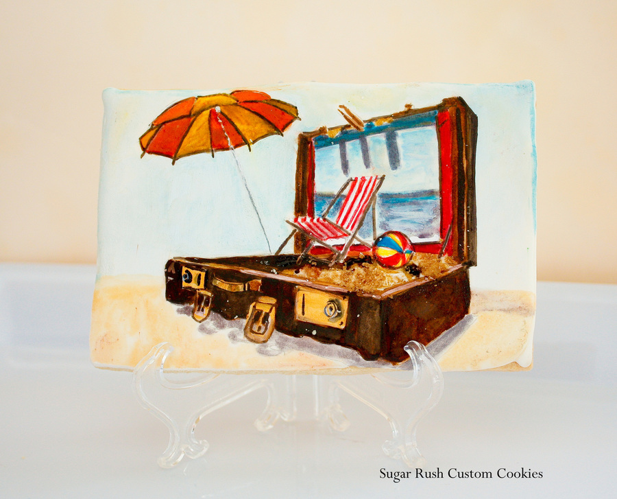 Travel Cookie Made For The Australian Magazine Cake on Cake Central