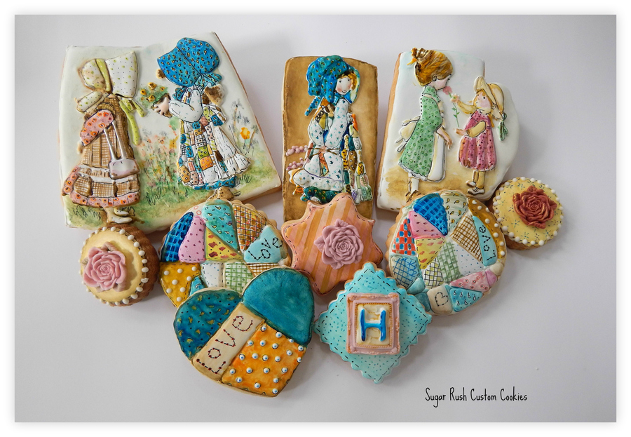 Hand Painted Holly Hobbie Cookies on Cake Central