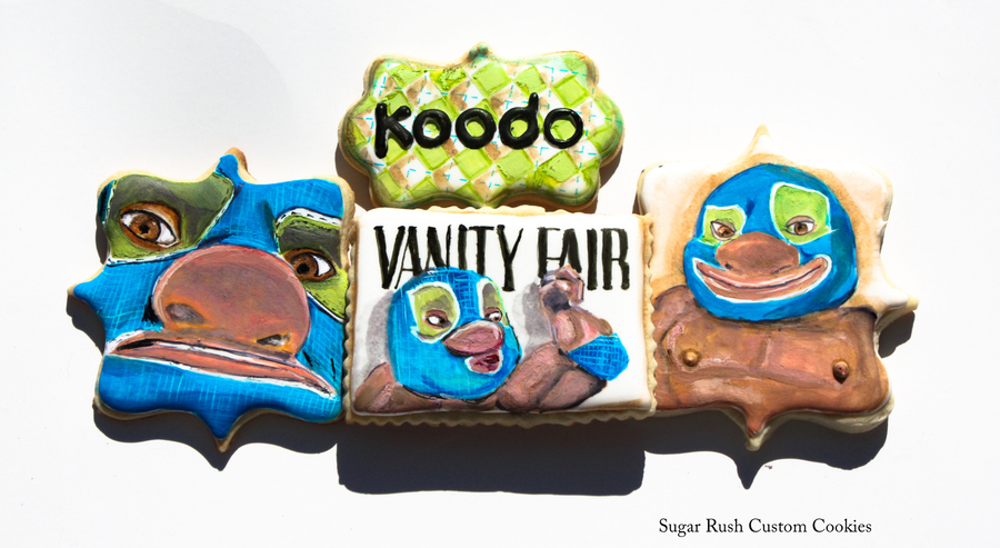 Koodo Mobile Themed Cookies on Cake Central