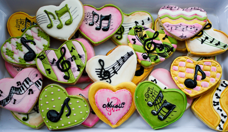 Musiccookies 1 Of 1 on Cake Central