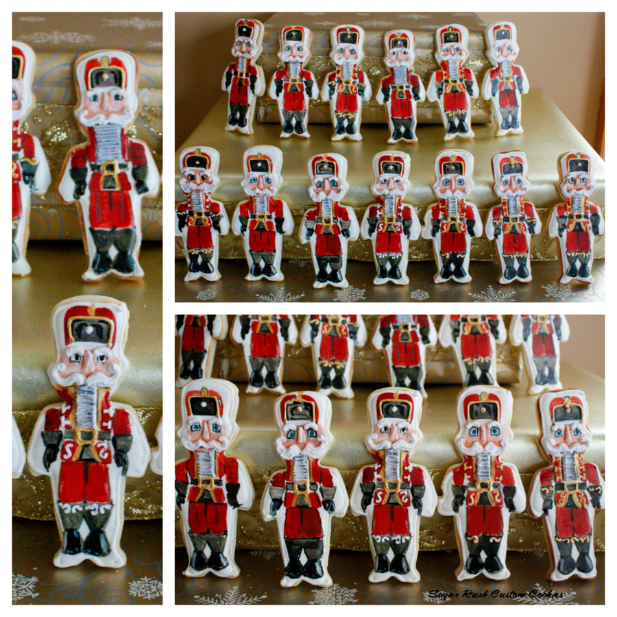 Nutcracker Copy  on Cake Central