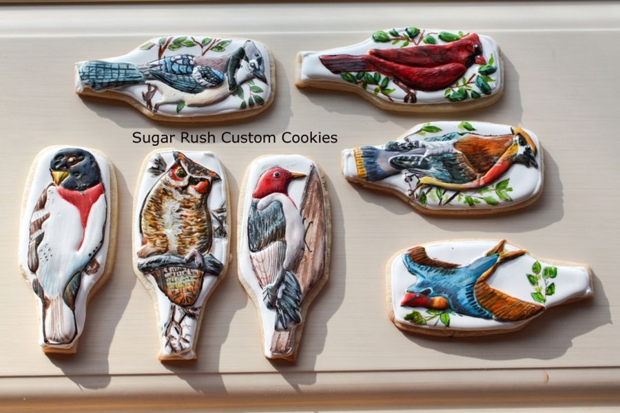Birds Of Canada Cookies  on Cake Central