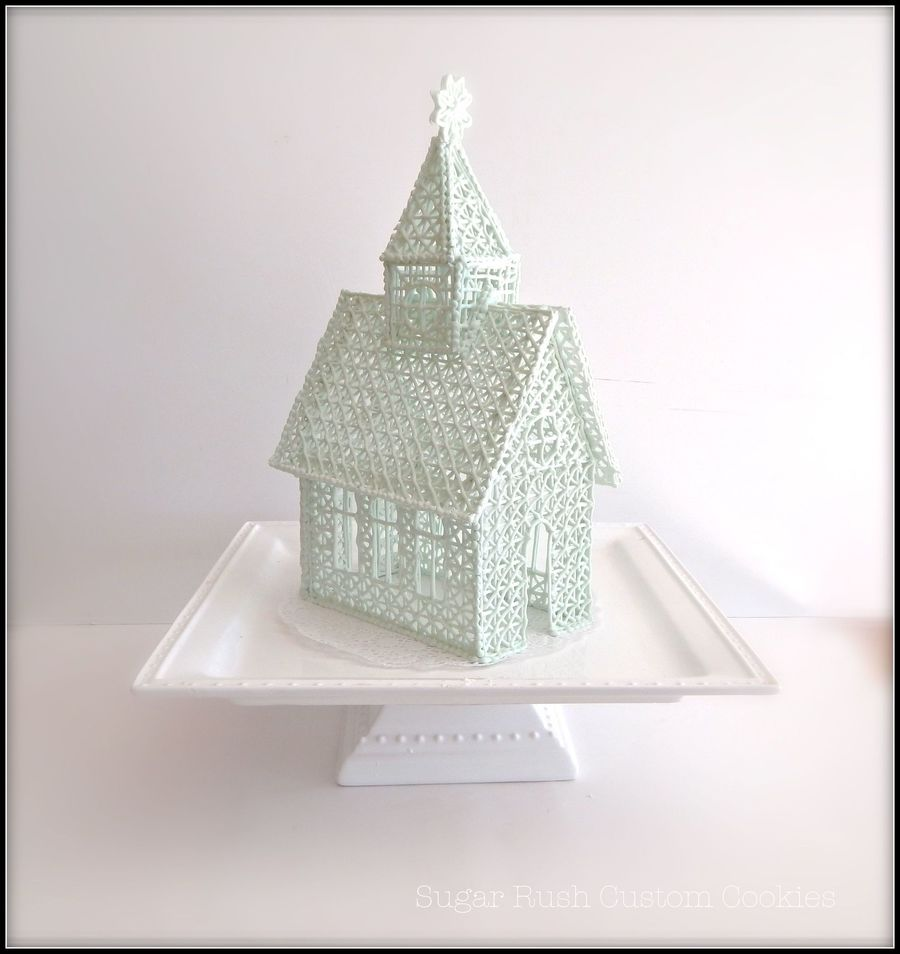 Royal Icing Wedding Chapel on Cake Central
