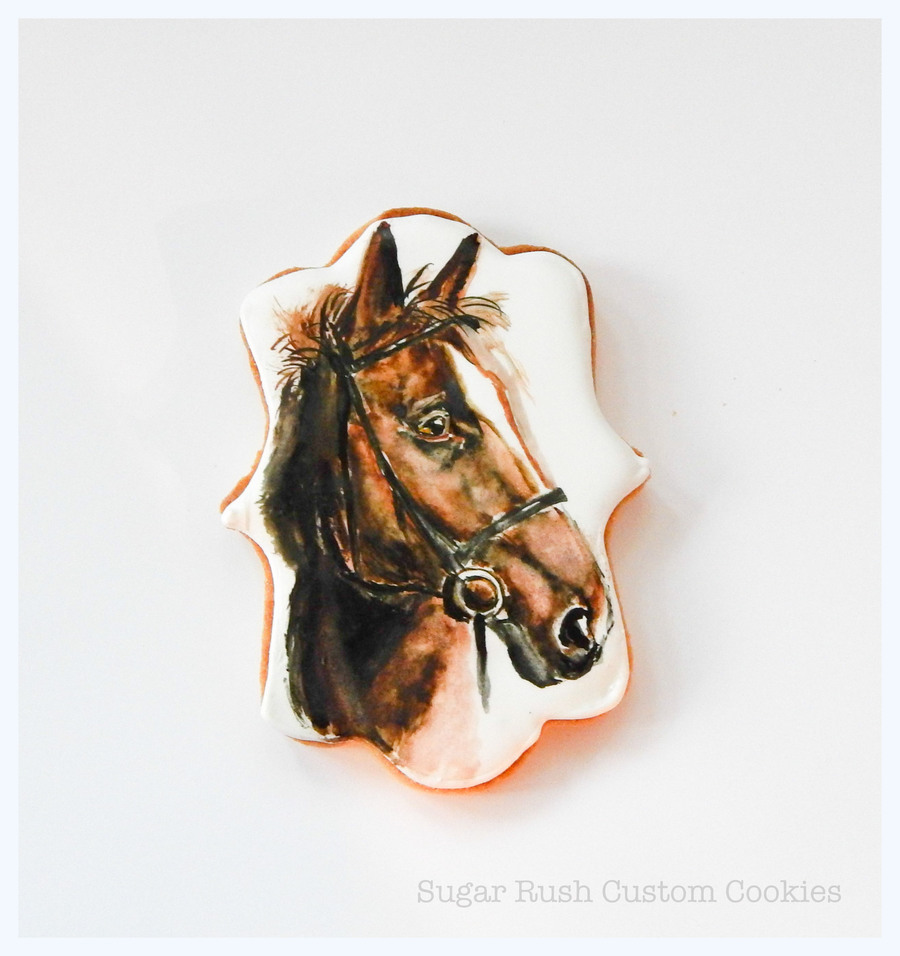 Horse Portrait on Cake Central