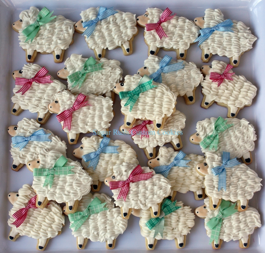 Little Lambs Royal Icing Cookies on Cake Central