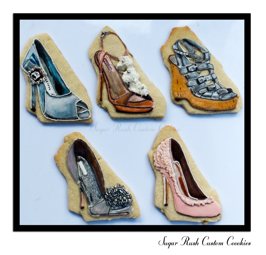 Ladies Shoe Cookies on Cake Central