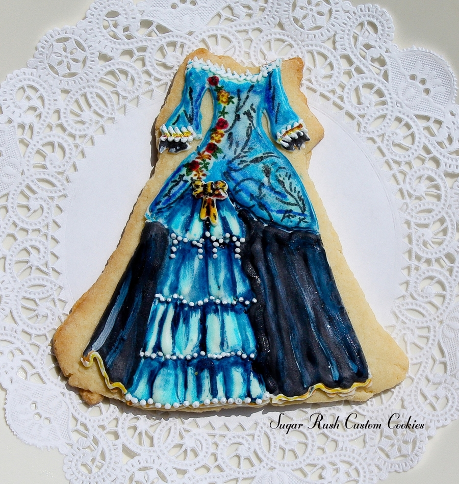 Dress Cookie  on Cake Central