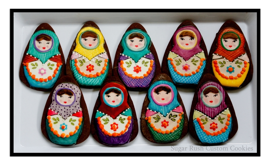 Matryoshka Dolls on Cake Central