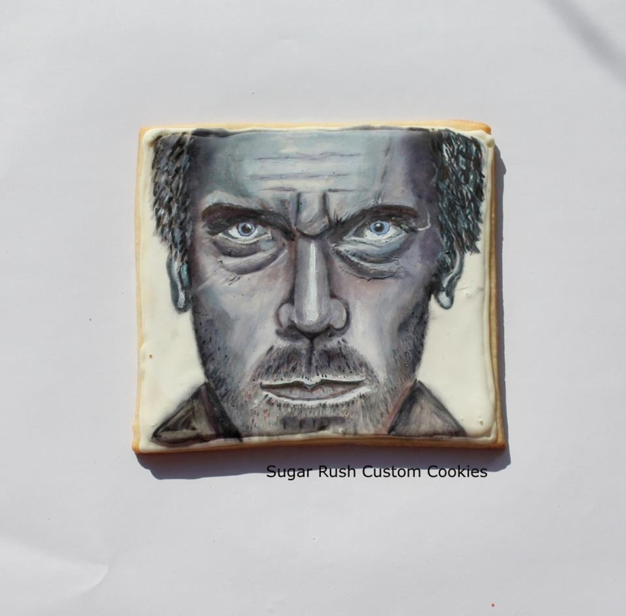 House M.d. Cookie Portrait on Cake Central