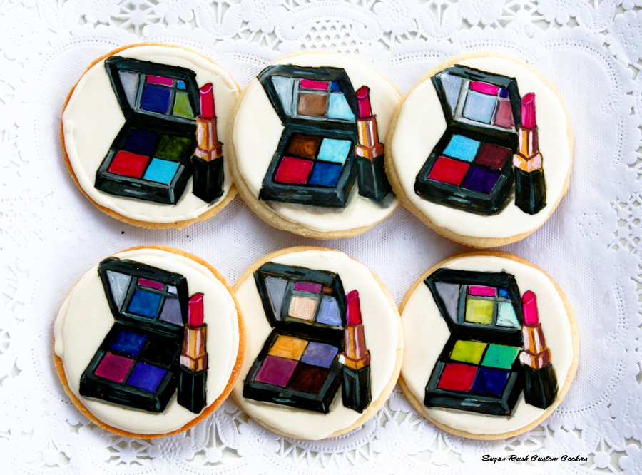 Makeupcookies 1 Of 1 Copy on Cake Central