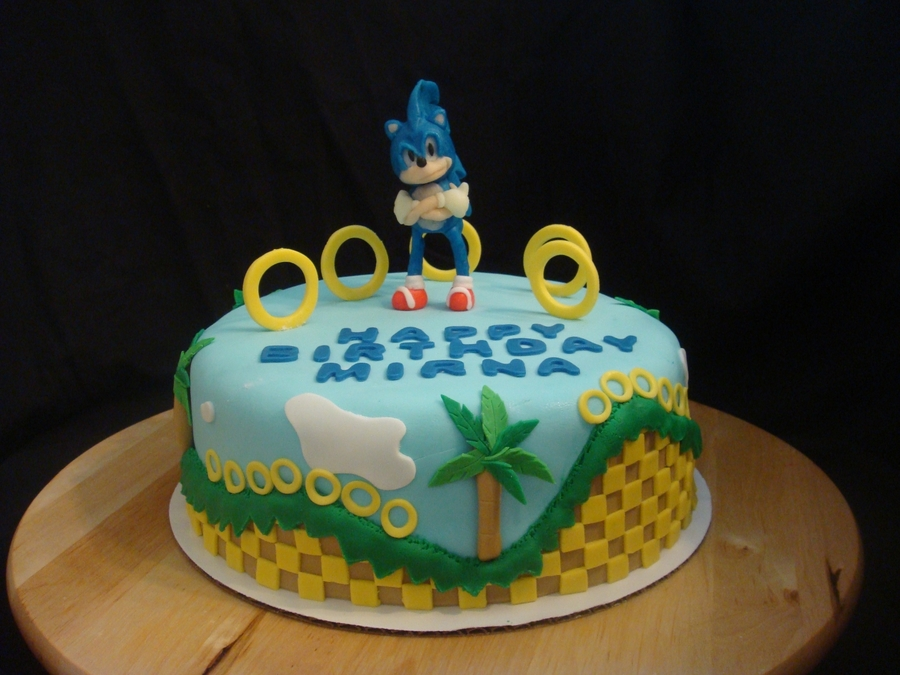 Sonic The Hedgehog Cakecentral Com