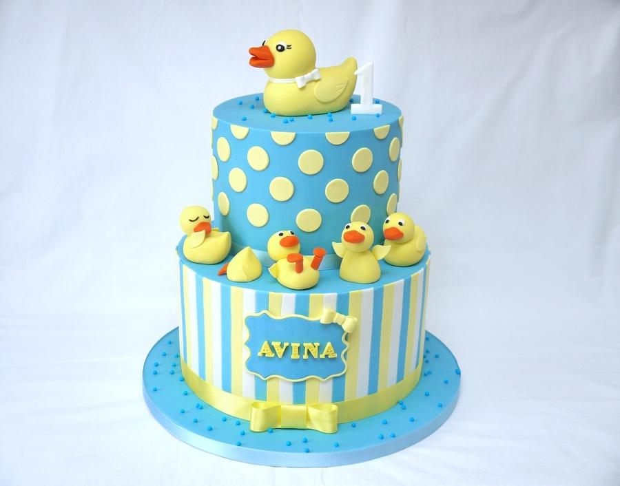 Mallard Duck Birthday Cake