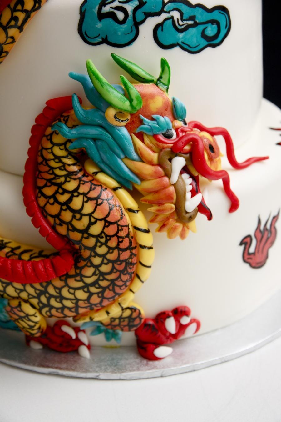 Dragon City Birthday Cake