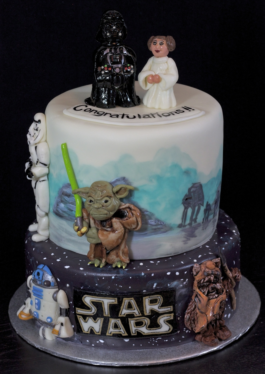 star wars cake. Black Bedroom Furniture Sets. Home Design Ideas