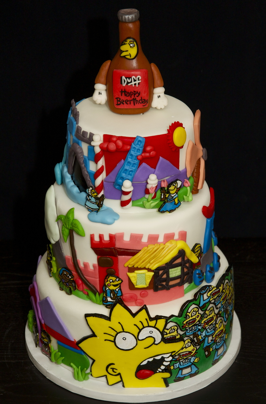 The Simpsons Cake Cakecentral Com