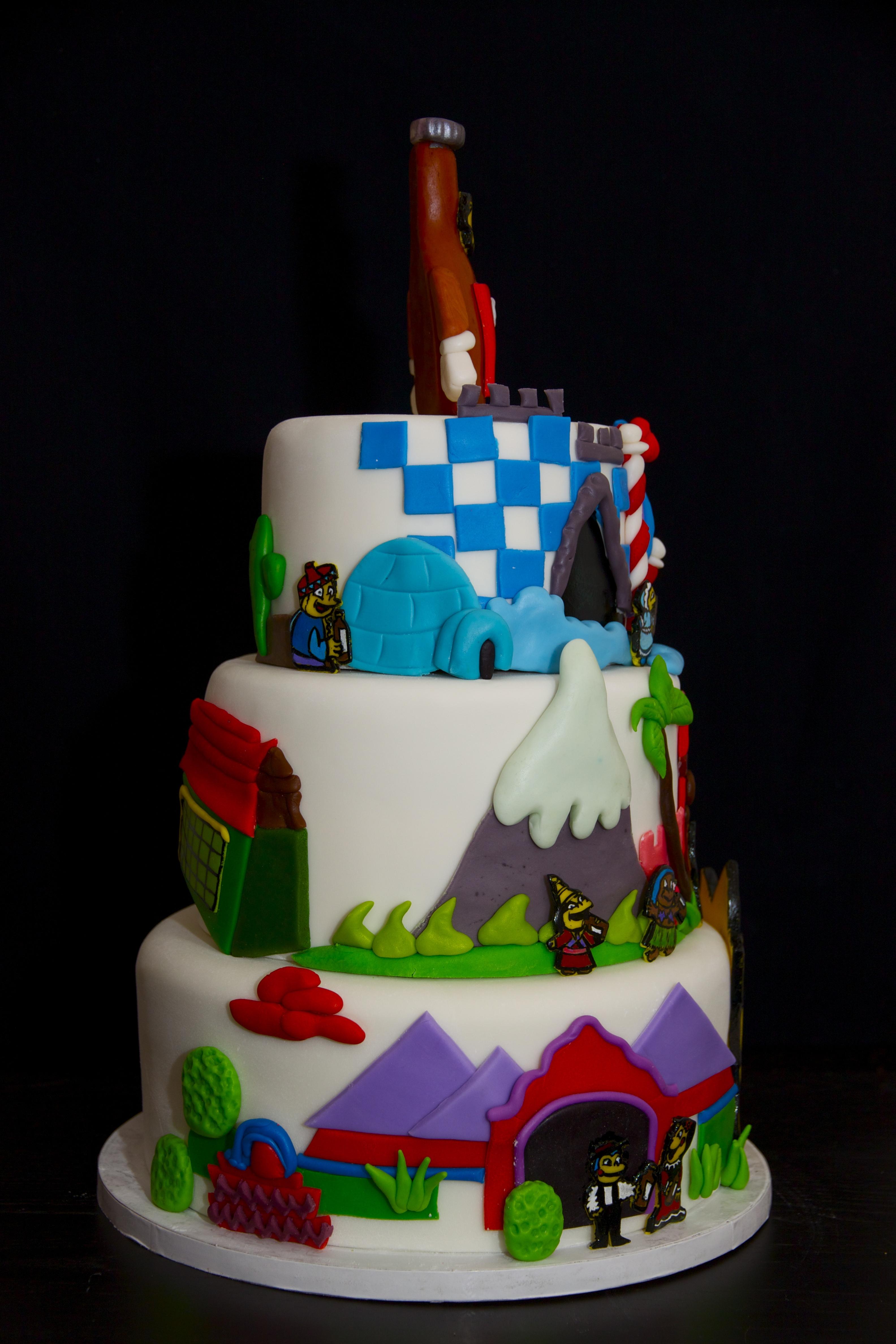 Simpsons Birthday Cake Recipe