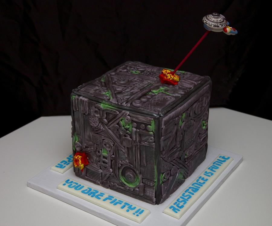 Star Trek Cake Cakecentral Com