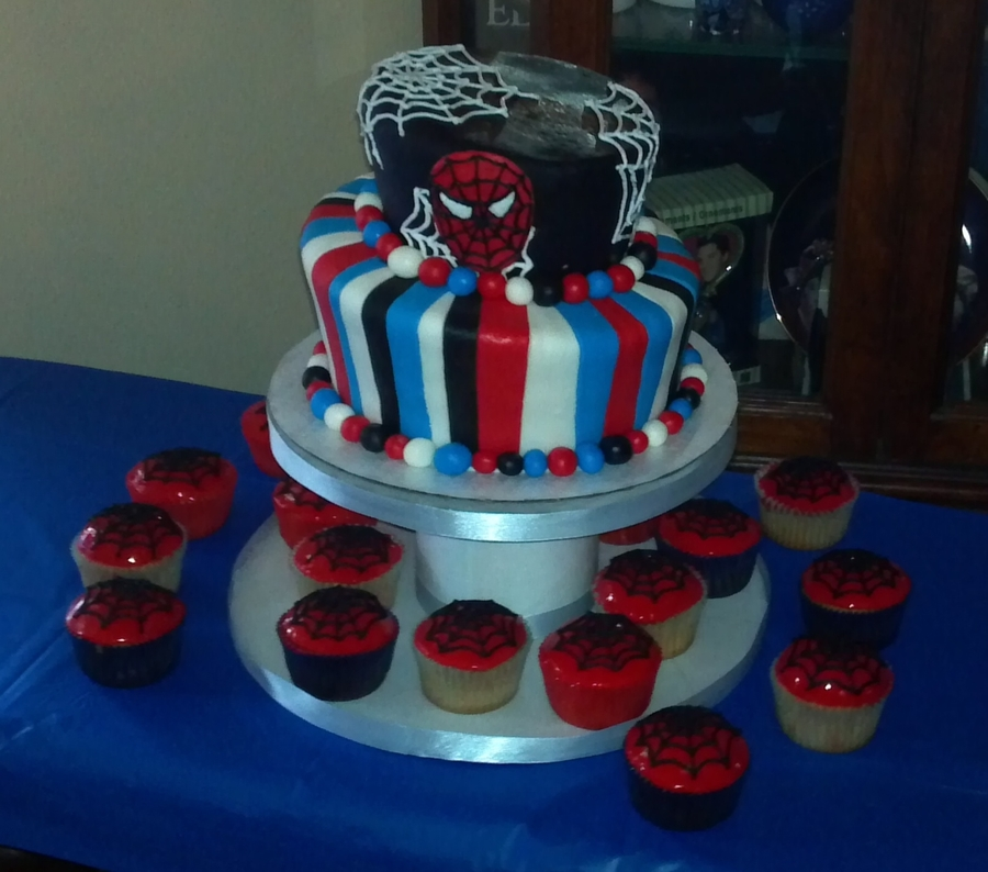 Spiderman Cake on Cake Central