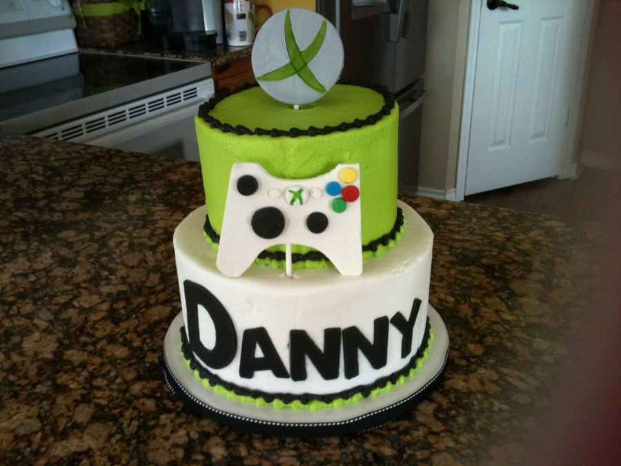 Simple Xbox Cake Cakecentral