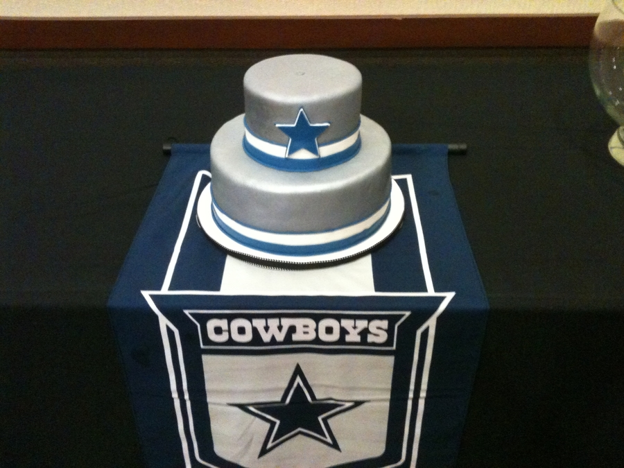 Dallas Cowboys Grooms Cake on Cake Central