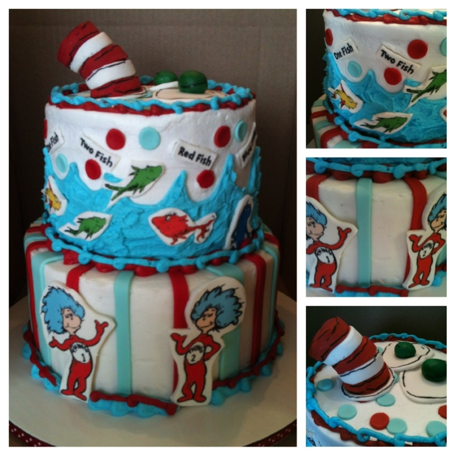 Dr. Seuss Mix Up on Cake Central