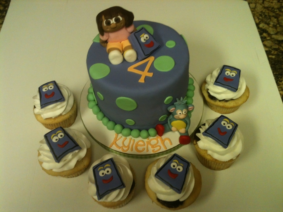 Dora, Boots, And Backpack on Cake Central