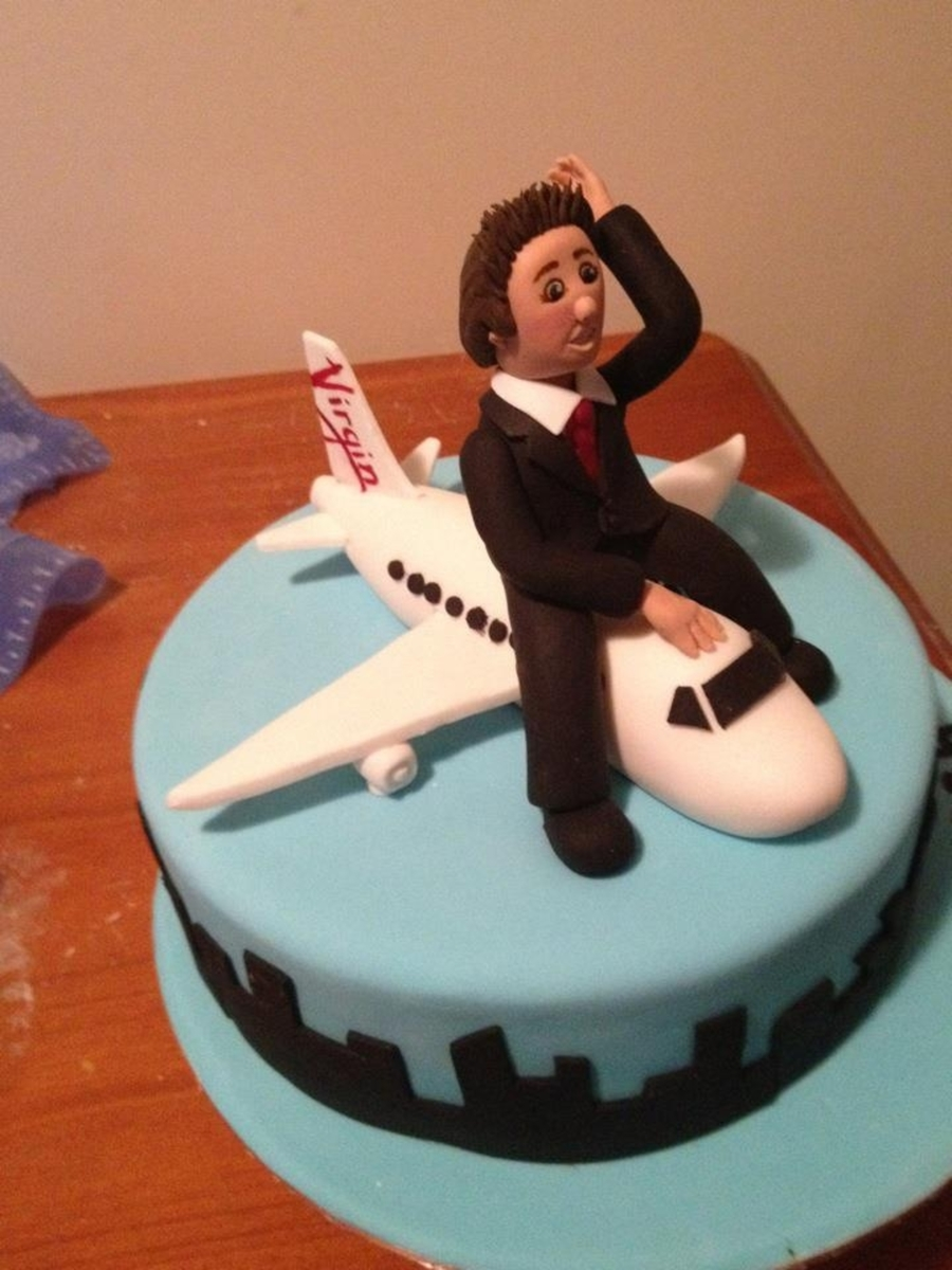Virgin Plane on Cake Central