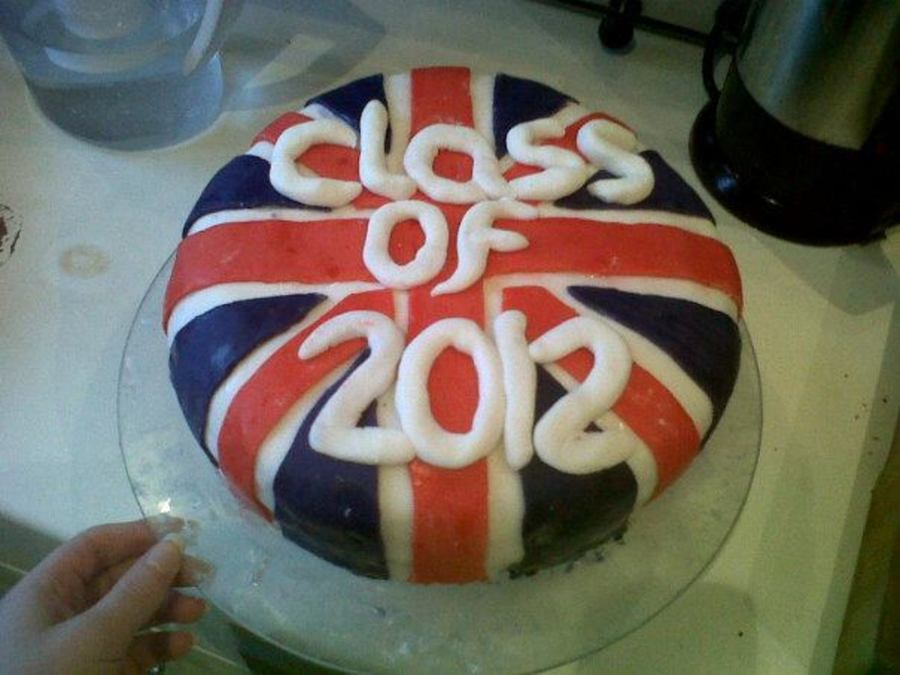 British Flag on Cake Central