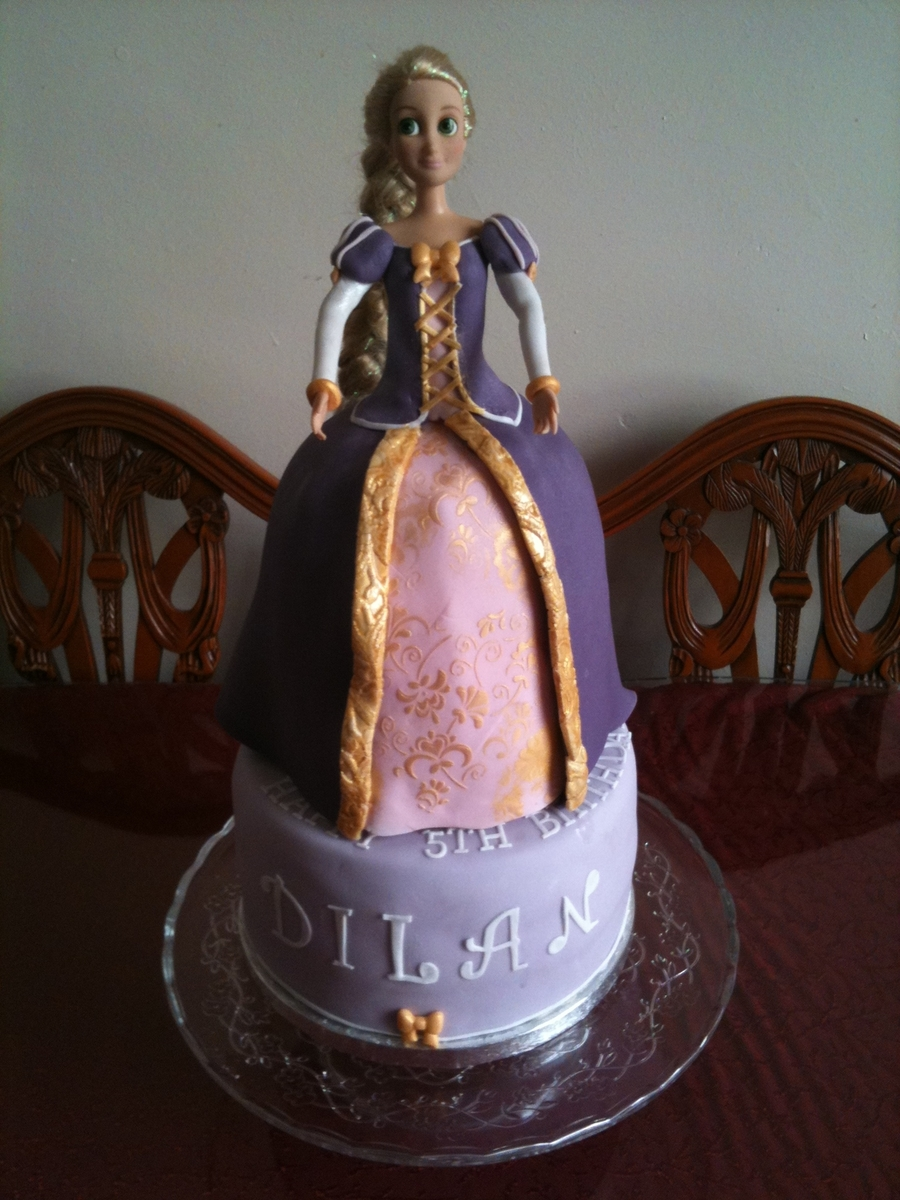 Rapunzel For Dilan on Cake Central