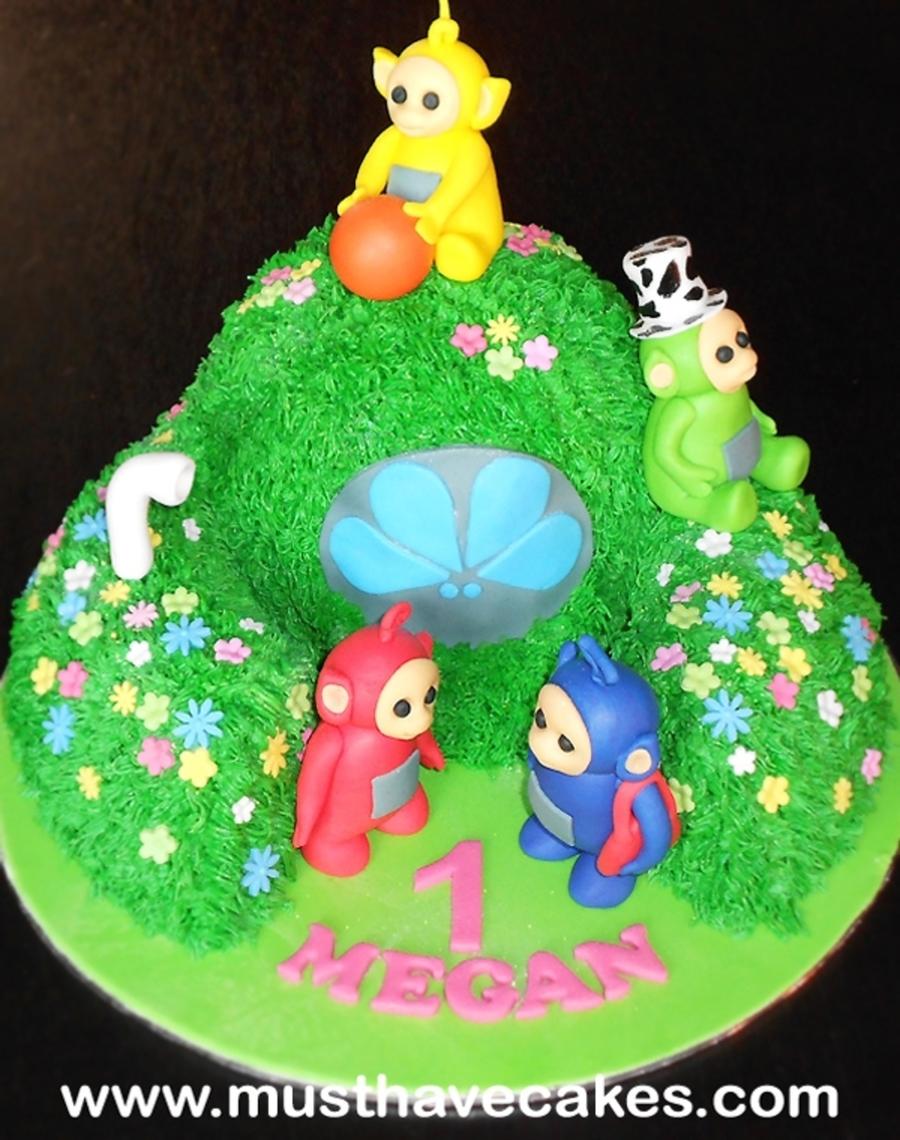 Teletubbies Cake CakeCentralcom