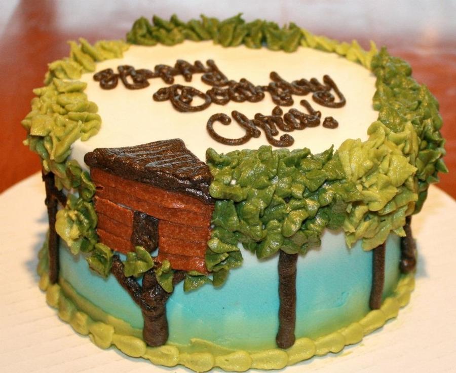 Treehouse Nature Cake Cakecentral Com
