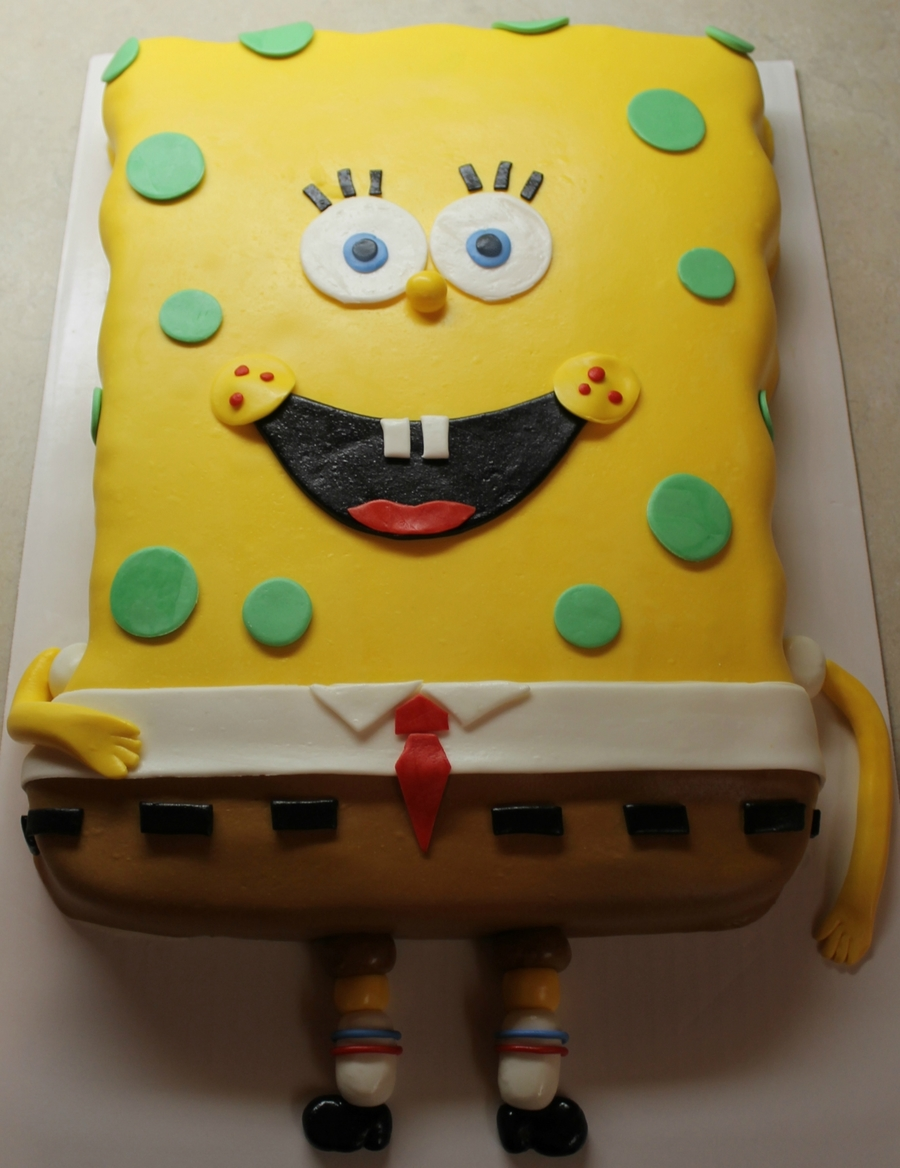 Spongebob Cake on Cake Central