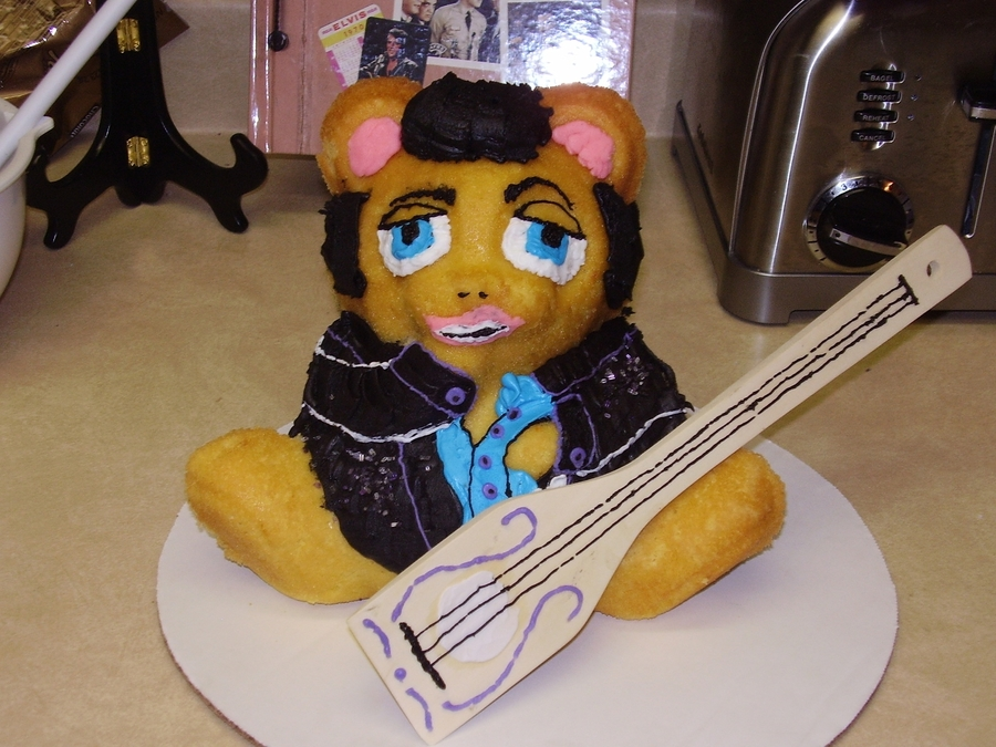 Elvis Birthday Cake on Cake Central