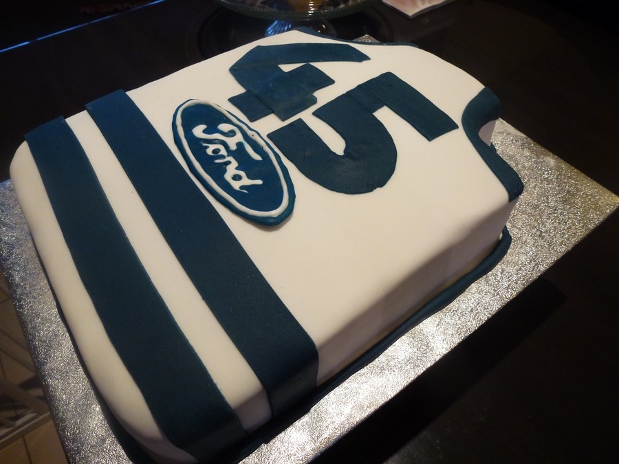 Geelong Cats Afl Jumper Cake Cakecentral