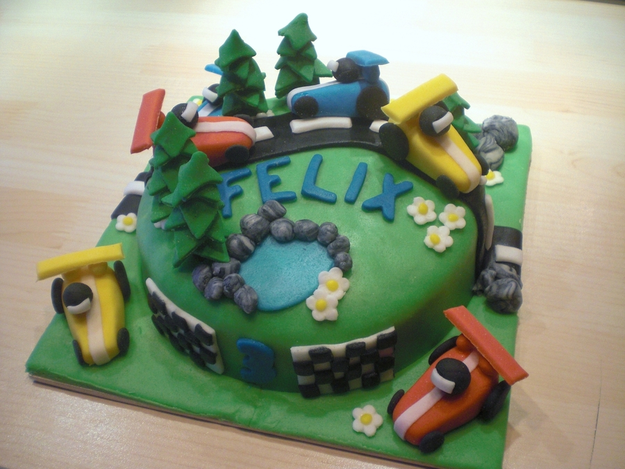 Mountain Car Race - Small Cake on Cake Central