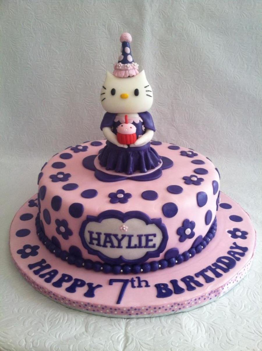 Hello Kitty Happy Birthday Cake Hello Kitty In Princess Gown