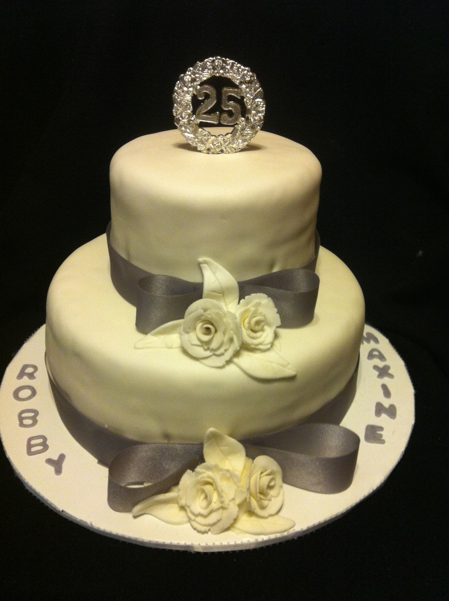 25Th Anniversary on Cake Central