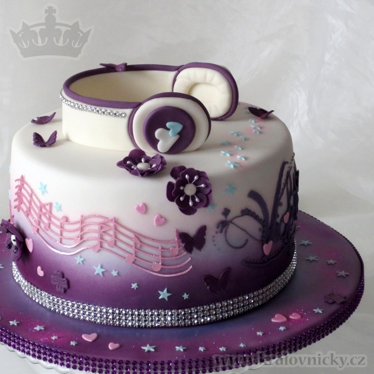 Violetta Music Star CakeCentralcom
