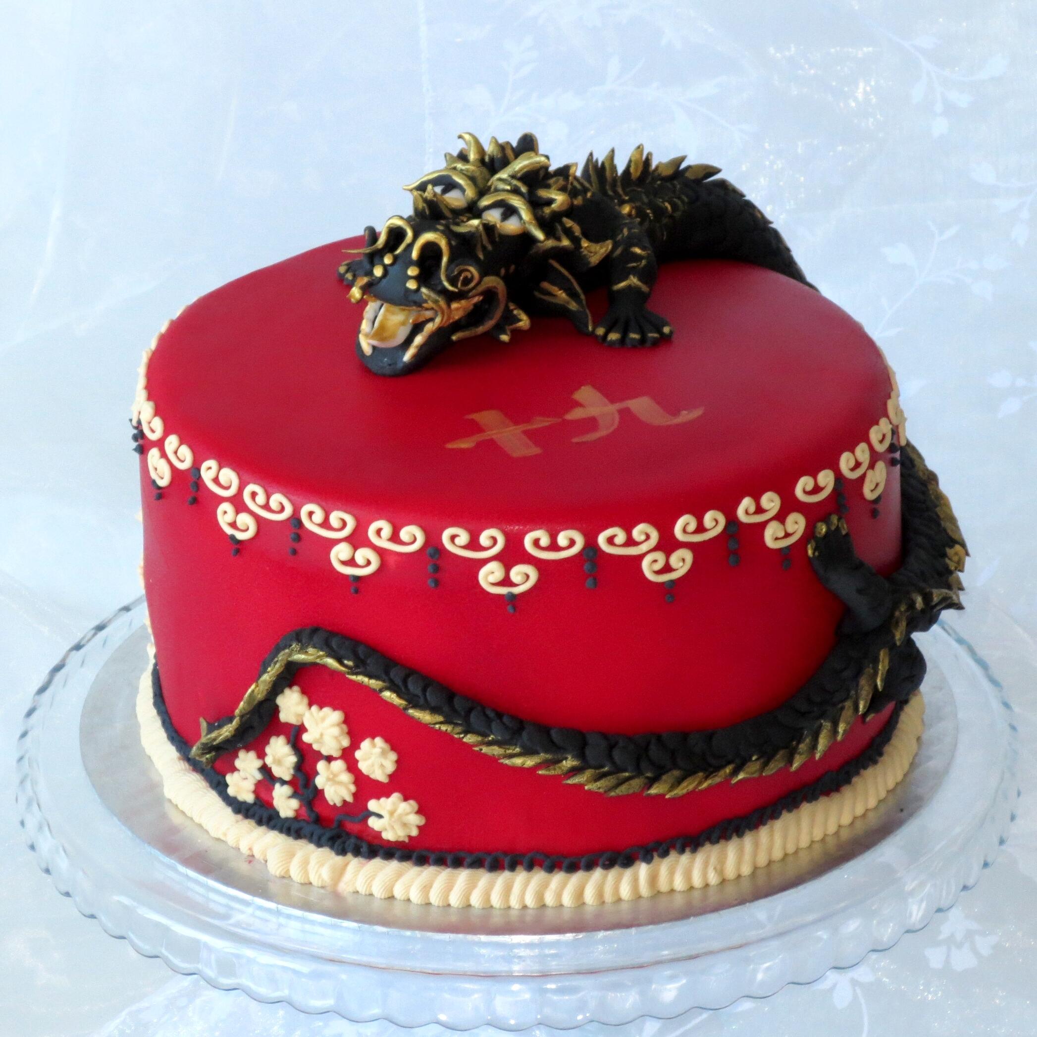 Chinese Birthday Cake Recipe