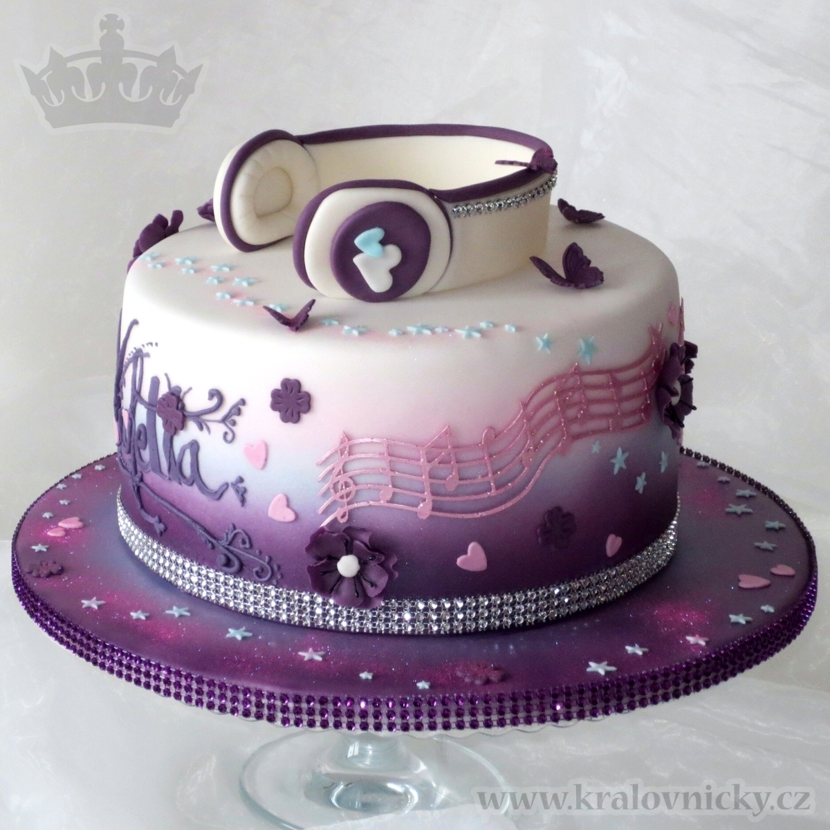 Cake Design Violetta : Violetta Music Star - CakeCentral.com