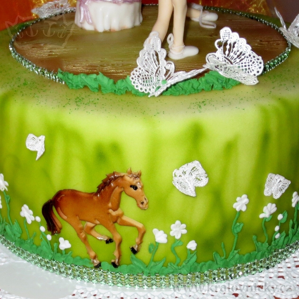 Horses And Little Ballerinas Cakecentral Com
