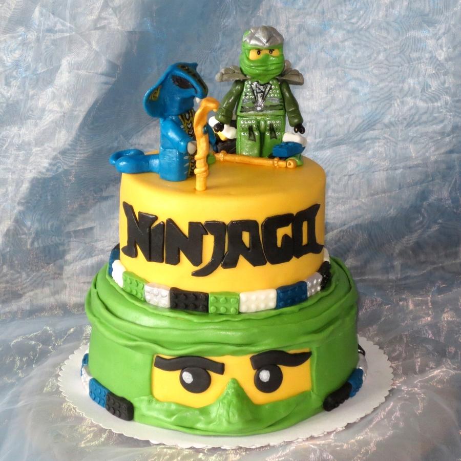 Lego Ninjago Jay Vs Fangdam Cakecentral Com