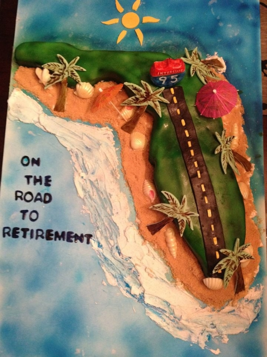 Florida Retirement Cake on Cake Central