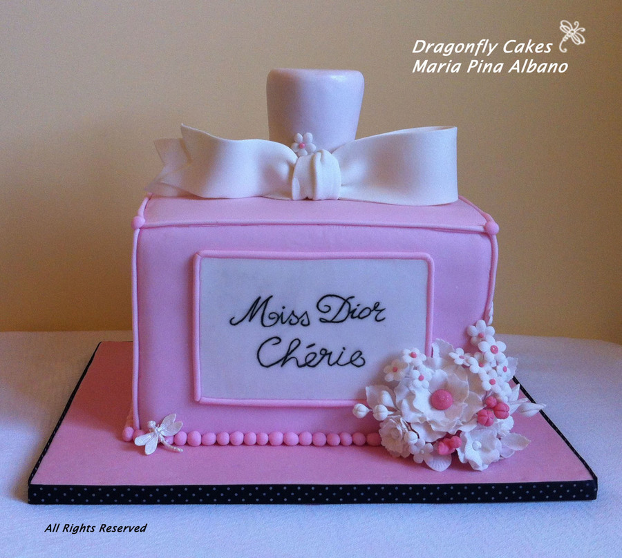 Miss Dior Cherie Cake Chocolate Fudge Cake With Apricot Confiture