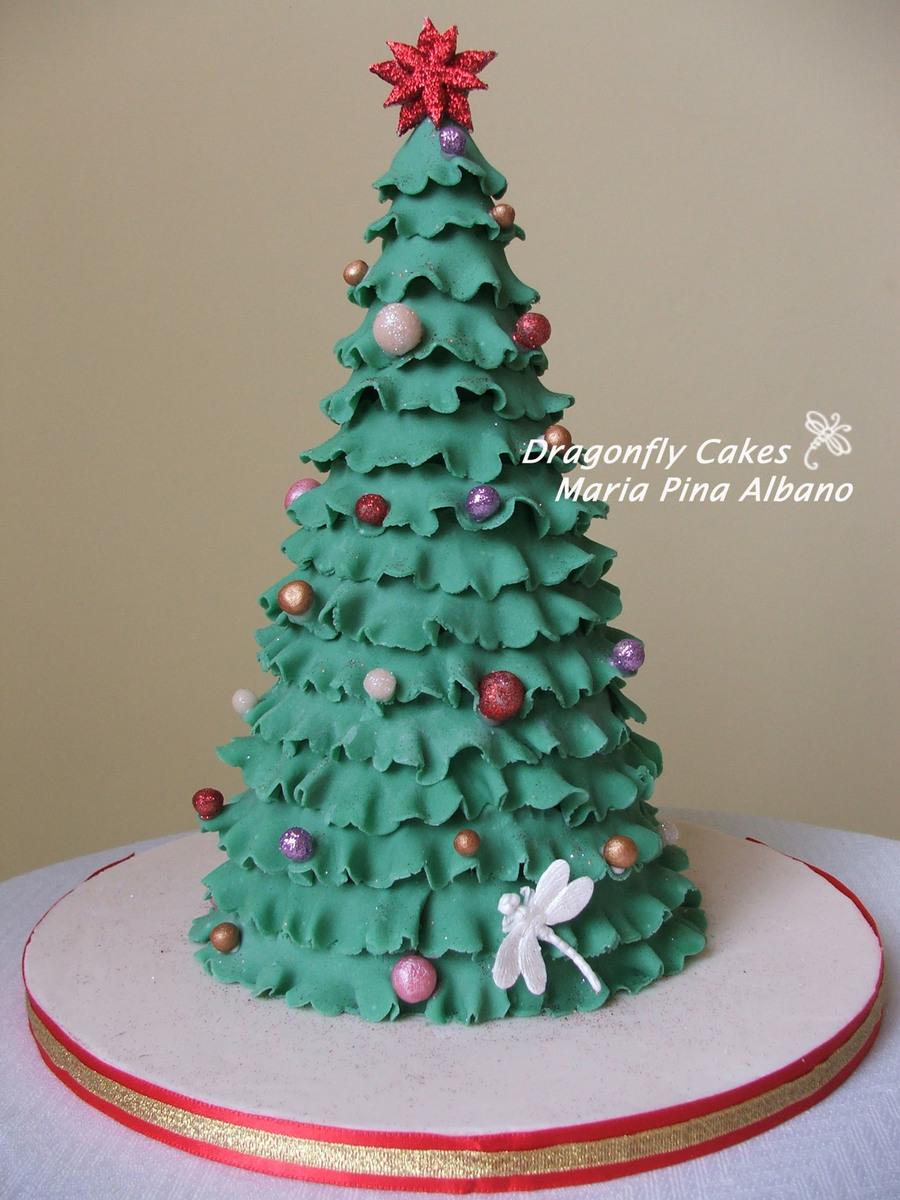 Images Of Christmas Tree Cake : Christmas Tree Cake - CakeCentral.com