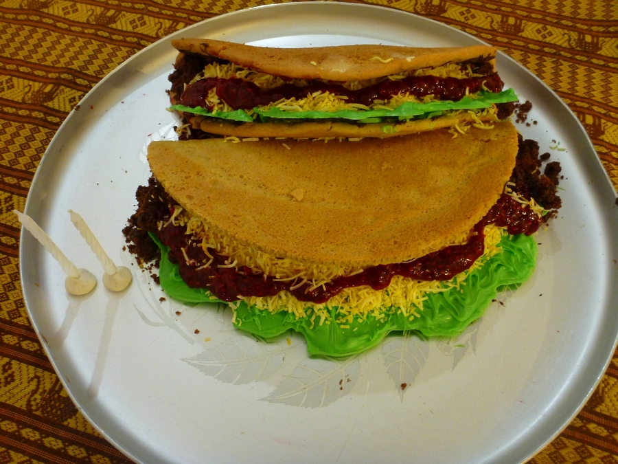 Taco Cake on Cake Central