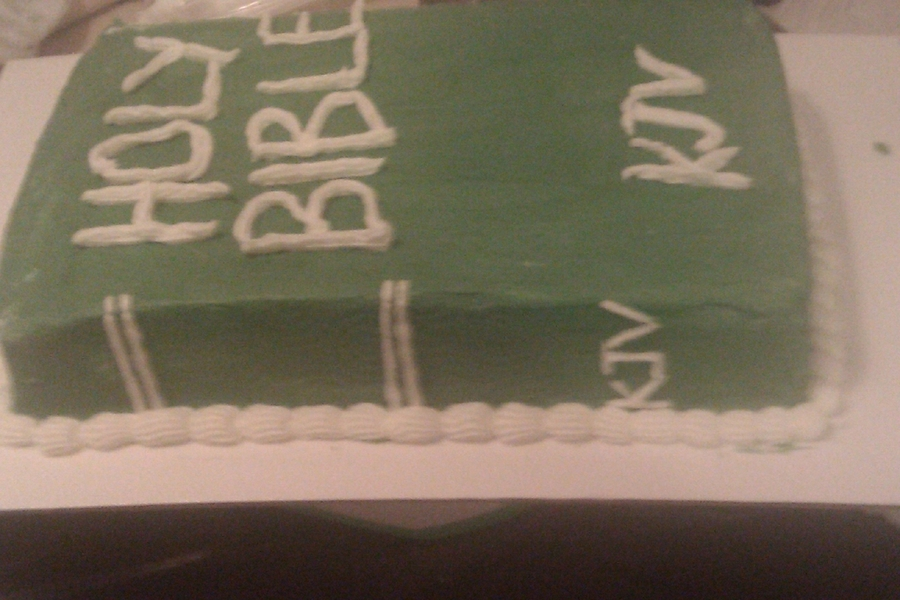 Bible Cake on Cake Central